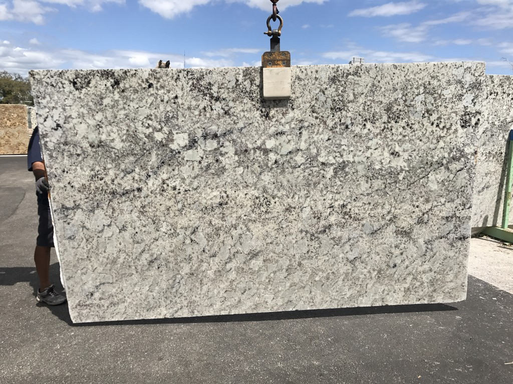 Granite Depot : L7 White Galaxy 118x70 - Granite Depot of Jacksonville, Florida